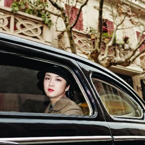Lust Caution, directed by Ang Lee, had won an award at the Venice Film Festival in 2007. The story was set in Hongkong in 1938 and so, the set visible behind actress Tang Wei was built exactly as it was then. Photograph/Russel Wong