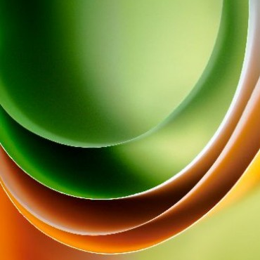 I wanted to create wave-like shapes. I used coloured papers with sidelighting to create this image. Photograph/Nilesh Bhange