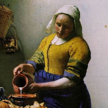 This 1658 painting titled The Milkmaid was done by Johannes Vermeer—one of the greatest Dutch painters who was rumoured to have used the camera obscura for his paintings. Image Source: Wikimedia Commons