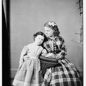 Misses Walker and Eldridge, 1855–1865. Photograph/Mathew B Brady