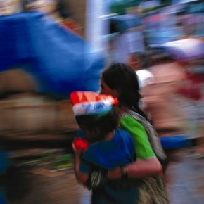 Shot on Independence Day, this image captures the right moment and colours of the celebration. Photograph/Victor George