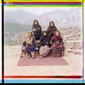 A group of women in Dagestan, 1910. Photograph/S M Prokudin-Gorsky