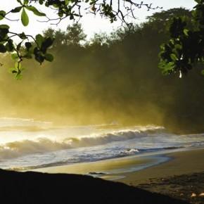 Male Kula, Vanuatu: This atmospheric moment was captured on a remote island in Vanuatu.. Photograph/Steve Davey