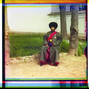 Isfandiyar Jurji Bahadur, Khan of the Russian protectorate of Khorezm (Khiva, now a part of modern Uzbekistan), 1910. Photograph/S M Prokudin-Gorsky