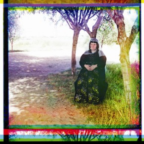 A Georgian woman poses for a photograph, 1910. Photograph/S M Prokudin-Gorsky
