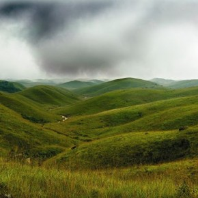 Cherrapunji, late monsoon afternoon, Meghalaya. Photograph/Soumitra Datta