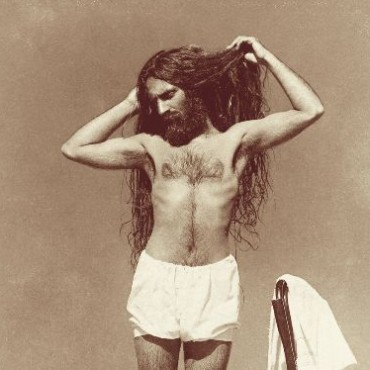 After a bath: self-portrait 1904, Lawrence Road house, Lahore, India, (Vintage print, 8.2 X 5.9cm) Inscribed on reverse by Umrao Singh Sher-Gil: USG 1904 Lahore
