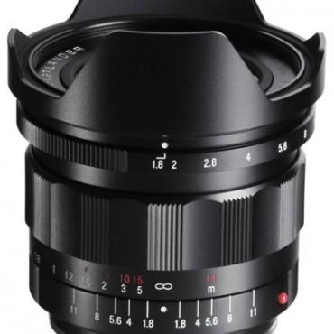 Voigtländer 21mm f/1.8 Ultron lens