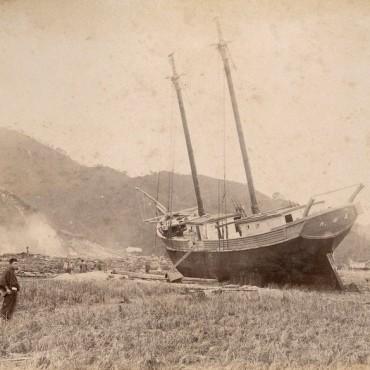 Sanriku Tsunami, from Tsunami 116 years ago. Image source/ photokina-World of Imaging