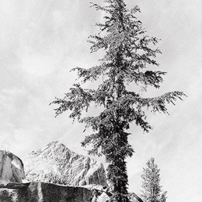An unnamed peak. Photograph/Ansel Adams
