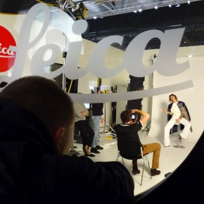 Activities like mock photoshoots are popular during trade shows.