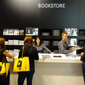 Leica also had an interesting bookstore setup at their booth.