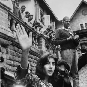 A young Benazir Bhutto in Shimla, 1972. Photograph/N Thiagarajan