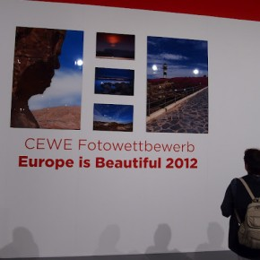 'Europe is Beautiful 2012' photo exhibition was showcased at Cewe stall.
