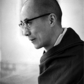 The Dalai Lama: This photograph of the Dalai Lama was taken when he came to address the audience during a prayer meeting in Tibet. Photograph/Ranjit Madhavji