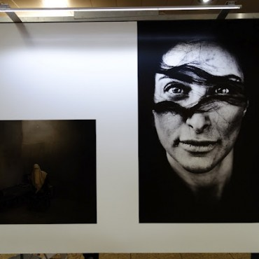 Artists: Left : Simona Ghizzoni. Right: Laerke Posselt
