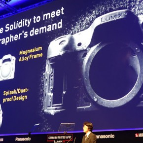 Panasonic held a multimedia presentation for it's LUMIX cameras.