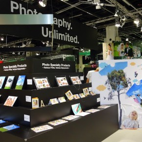 Photobooks at Fujifilm stall.