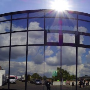 A Panoramic view of the photokina hall in Germany.