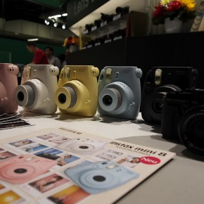 Fujifilm instax camera at photokina.