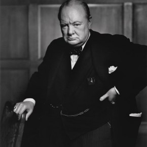 "Winston Churchill at the Canada House of Commons in 1941. Karsh had said, ""I knew after I had taken it that it was an important picture, but I could hardly have dreamed that it would become one of the most widely reproduced images in the history of photography."" Photograph/Yousuf Karsh"