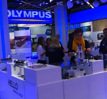 A Look at the Olympus Stall
