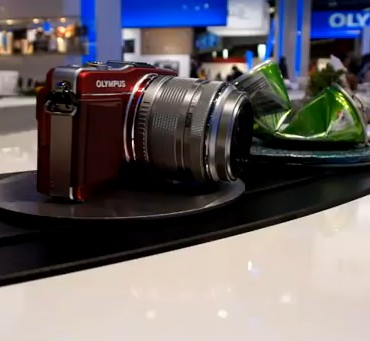 Innovative display from Olympus