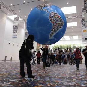 The photo globe at photokina 2012