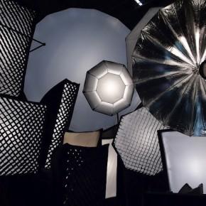 Studio lights from Multiblitz.