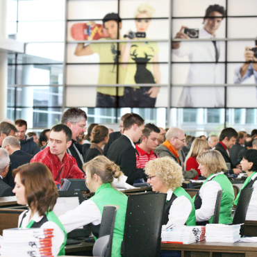 Exhibitors at Koelnmesse