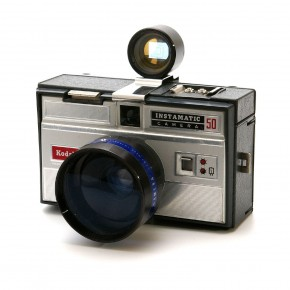 Kodak Instamatic 50 (1963): This is the first Instamatic rangefinder ever to be marketed. Its popularity led to several successive models of the Instamatic. With its vintage appeal, it found a rather large following among the younger generation of photographers, during that time.