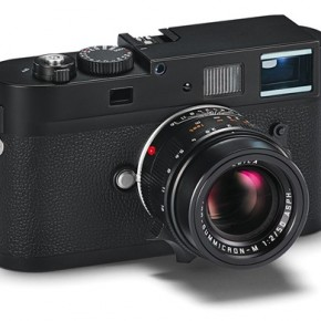 Leica M Monochrom (2012): This camera is the latest rangefinder digital camera to be introduced by Leica. Interestingly enough, it is the world's first 35mm full-frame camera that shoots only in black and white. It is a version of the famous Leica M9 digital camera.