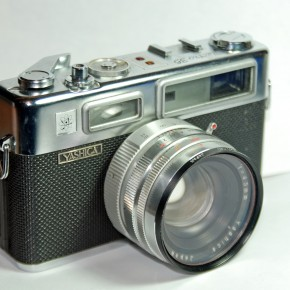Yashica Electro 35 (1966): The Electro 35 was one of the most popular cameras in the 1960s and sold a large number worldwide. It was an Aperture Priority camera with a silent shutter. Known as the first electronically controlled camera, its low price ensured its wide usage.
