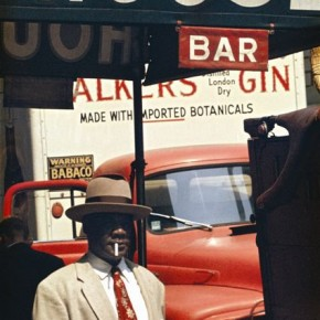 Most of Saul's images are reflections from his own life and times while living in New York. Photograph/Saul Leiter