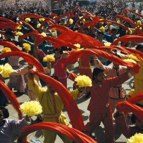 This image was shot during a parade on the 10th anniversary of the People's Republic of China, for which Brian garnered a lot of appreciation from the Chinese government. Photograph/Brian Drake