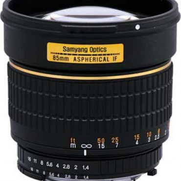 Samyang 85MM F/1.4 ASPH IF