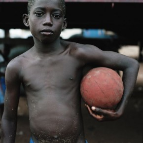 Kodio, Ivory Coast: For the people of Africa, football is precious. And like everything truly precious, it is a neccesity—like bread and water. Photograph/Jessica Hilltout