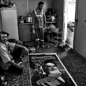These Afghan immigrants, living in Tehran, Iran, invited Mahdieh over to breakfast one morning, while she was working on a series on them. Photograph/Mahdieh Mirhabibi