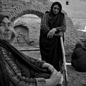 This is an image from Mahdieh's series, Here, Afghanistan, and shows the working women from the Sarmagh village of the Herat province. Photograph/Mahdieh Mirhabibi