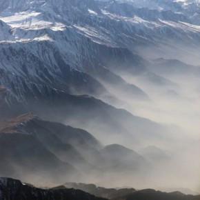 """This is the Pir Panjal Range. The Kashmir Valley lies between the Pir Panjal Range and the Great Himalayas."""" Photography/Ashok Dilwali"""