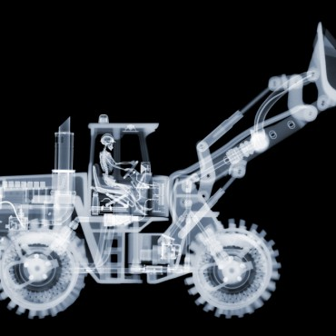 While the image might appear like a single X-ray of the object, it is in fact multiple X-rays carefully aligned using Photoshop. Photograph/Nick Veasey