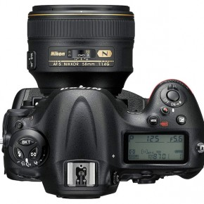 The top of the camera has a drive mode dial with a lock, and the buttons to access metering, bracketing and flash modes. The video record button can be customised for ISO, when the camera is ahooting stills.