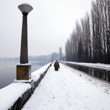 Amit's photos in Kashmir are a rejection of the beautiful, with an eerie sense of silence that envelopes. Photograph/Amit Mehra