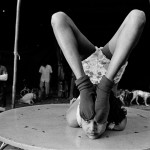 Life in the circus seems to be an arduous journey of countless ups and downs. Photograph/Saibal Das