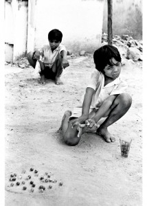 The images he makes invoke a sense of nostalgia and sometimes take you back to your childhood days. Photograph/Ghanshyam Kahar