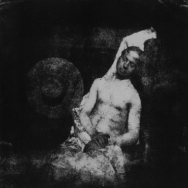 Self-Portrait as a Drowned Man, considered one of Bayard's most important  works.