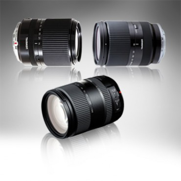 Tamron's three new lenses.