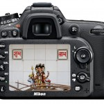 The back of the camera is largely unchanged from the D7000, apart from the inclusion of the typical stills/video switch that is also seen in the D800. The viewfinder's display is now OLED, and not LCD, which improves visibility of the camera settings.