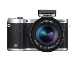 This retro-styled camera is minimal in terms of design with just the grip dominating the front. The metal plating lends elegance to the overall look and makes the camera feel sturdy. There is no audio jack, but you can use a hot shoe mic.
