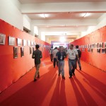 The stunning showcase of photographs at the trade fair was a treat.